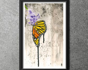 Cloudy Butterfly