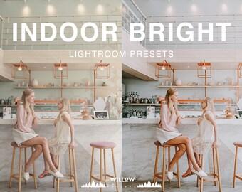 Indoor Bright Tones Lightroom Presets for Portrait, Wedding, Product, Outdoor, Studio, Newborn Filter dreamy Photo Editing Results