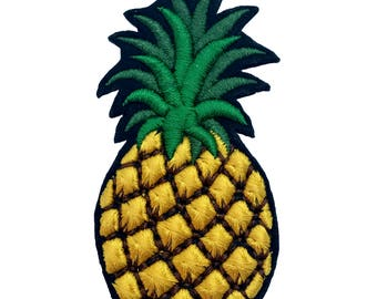 """Embroidered Brooch """"Pineapple"""""""