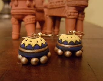 Terracotta jewellery, terracotta jhumka