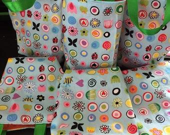 Gift bag , party favour bag, easter gift bag , cotton gift bag , small gift bag , reusable bag ,