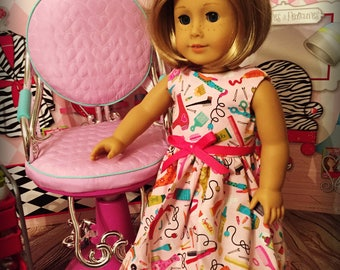"""SALE Clothes Dress for 18"""" Dolls like American Girl, My Life or Our Generatio  Dolls - Hair Styling Products"""