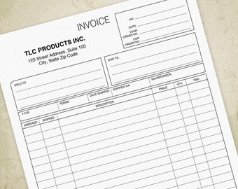 Invoice Template Etsy - Rent invoice template pdf japanese clothing stores online