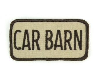 Car Barn Vintage Patch