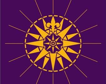 195 Compass Rose