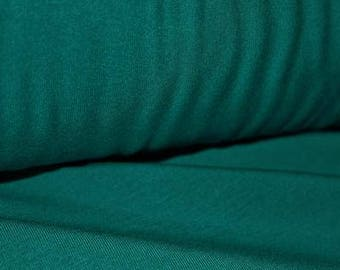 Bamboo French Terry, Teal, 270gsm, 4 Way Stretch, By the 1/2 meter.