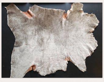 Tan brown Lamb Shearling Natural photography layer basket filler