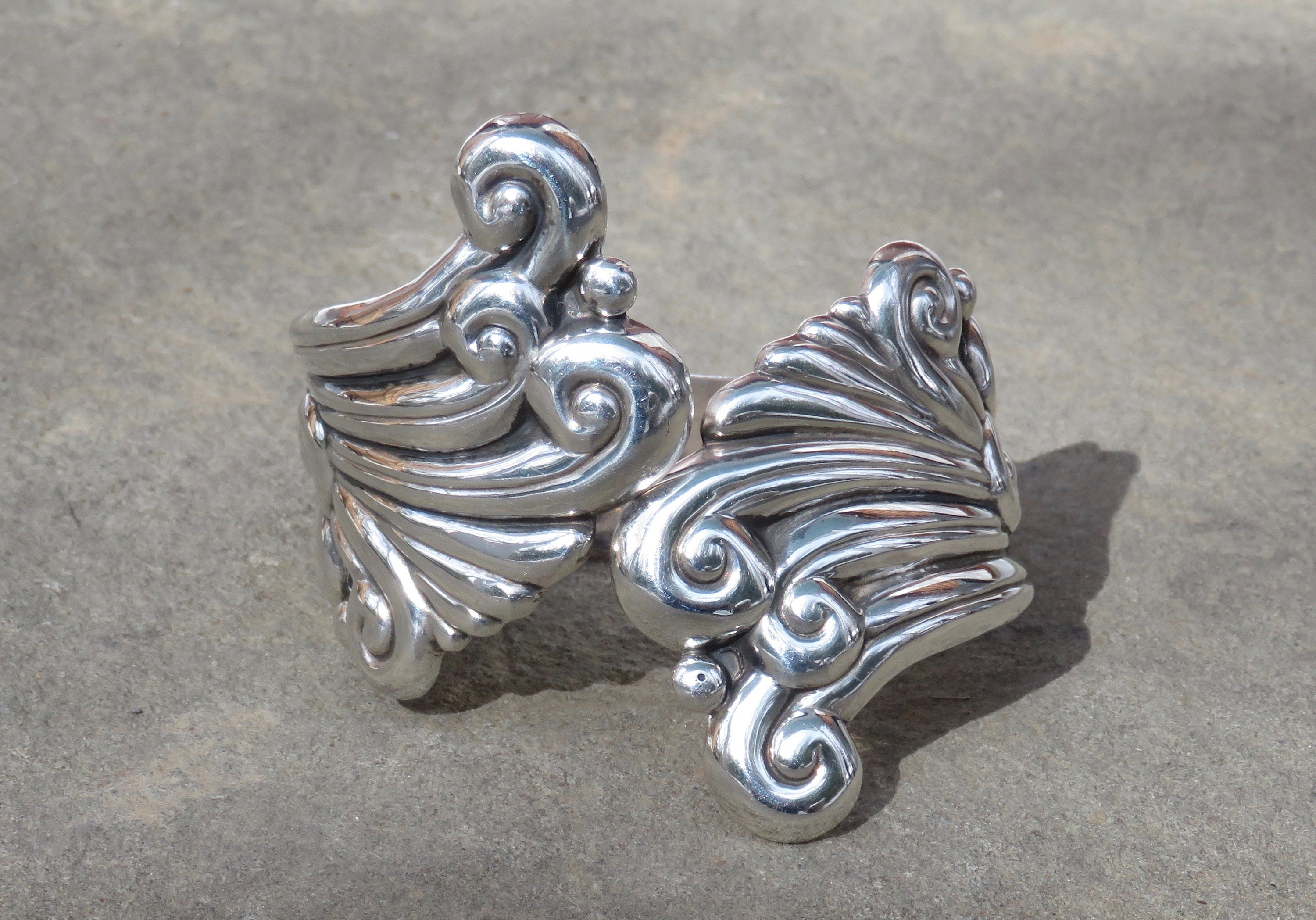 clamper mexican escorcia sterling click to silver expand vintage the full item bracelet