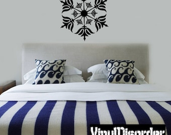 Snowflakes Vinyl Wall Decal Or Car Sticker - Mv031ET