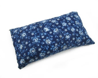 Emery Pincushion - Keep your needles clean and sharp with Blue Reproduction Emery Pin cushion