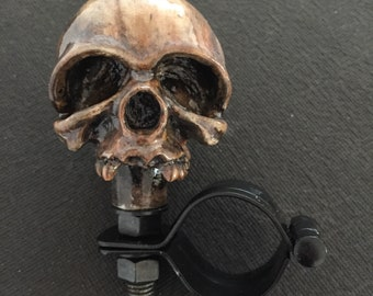 Deadhead steering wheel knob