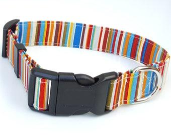 Dog Collar - Tommy Stripe