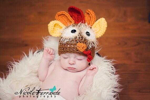 Crochet Hat Pattern Crochet Pattern Crochet Turkey Hat Turkey Hat