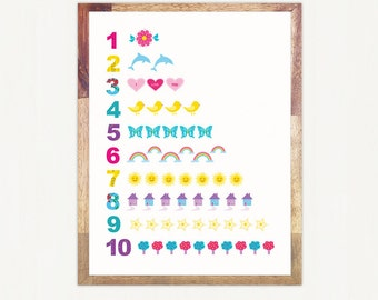 Numbers Print for Download - Personal Use