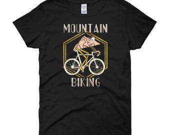 Mountain Biking Pun Women's T-Shirt