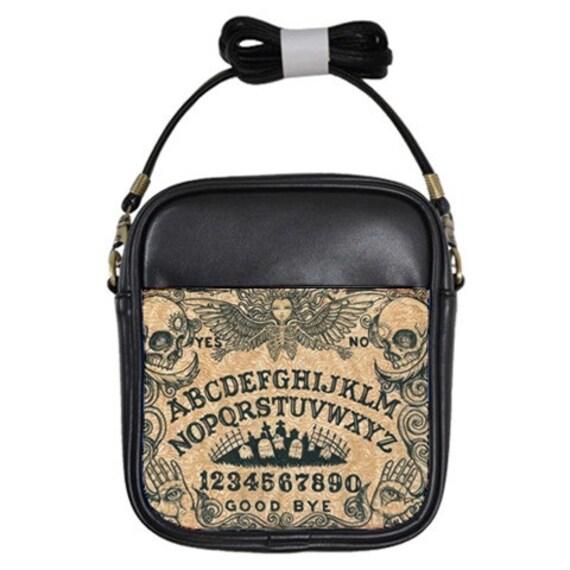Ouija Board shoulder sling purse