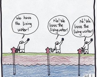 Living Water CARTOON