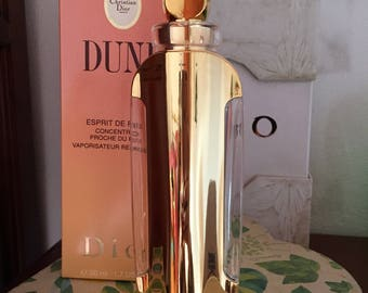 Dune Esprit de Parfum VINTAGE 50 ml 1.7 FL.OZ by C. Dior new never used with gold case and box