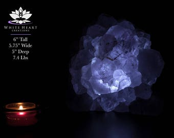 Amethyst Geode Lamp | Etsy