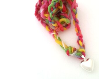 Pregnancy harmony bell, heart shape bell, woven necklace, Expecting mom gift