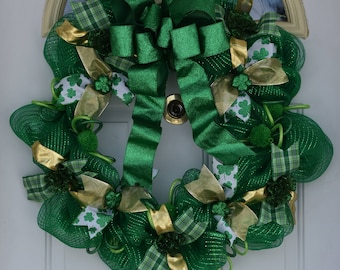 Large St. Patrick's Day Wreath