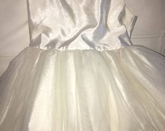 Ivory Flowergirl Dress-SALE