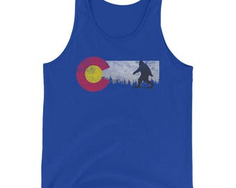 Colorado Sasquatch Tank Top