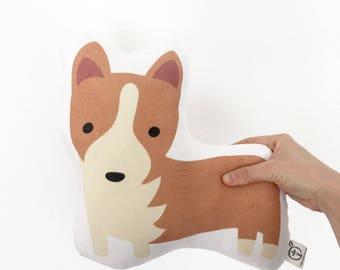 Corgi Pillow, Corgi,  Kids Gift, Baby Gift, Pembroke Welsh Corgi, Puppy Pillow, Dog Pillow, Pet Pillow, Puppy, Corgi Pillow, Corgi Cushion
