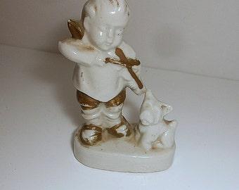 Cupid Cherub Baby Boy Figurine