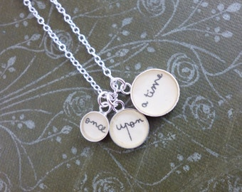 Once Upon a Time Small Charm Pendant