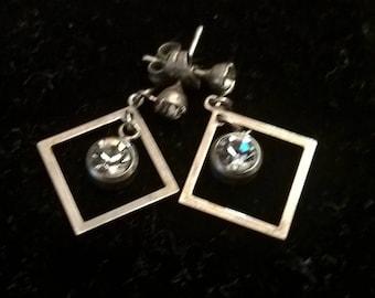 Vintage earrings, dangling