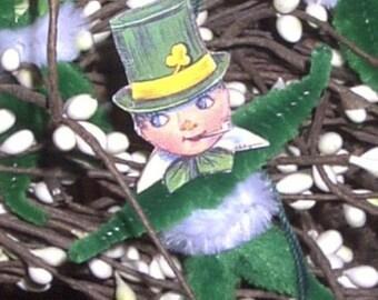 Whimiscal St. Patrick's Day Leprecaun Ornies