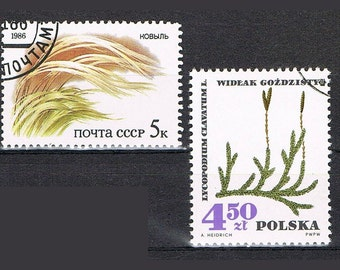 58  Postage Stamps - Flowers - Plants