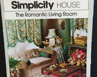 Vintage Simplicity House #101 The Romantic Living Room Tutorial
