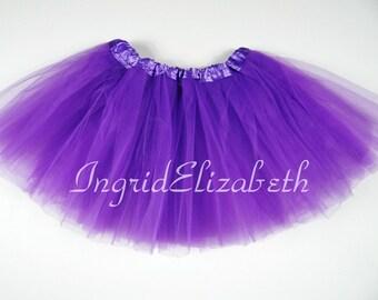 "Lilac Teen Adult 3-Layer Tutu SALE / Waist Stretch 18-36"" / 17"" Length / Skirt Style"