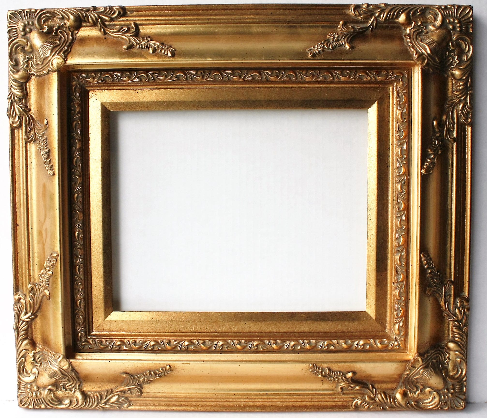 Awesome Gold Ornate Picture Frames Gallery - Picture Frame Ideas ...