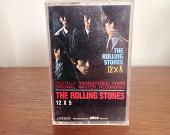 Rolling Stones 12x5 Cassette Tape