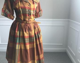 Vintage 50's Dress M/L