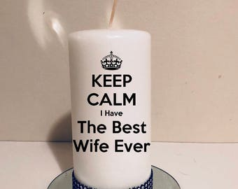 The best wife ever! Gift for wife! Wife's gift idea! Valentine gift!