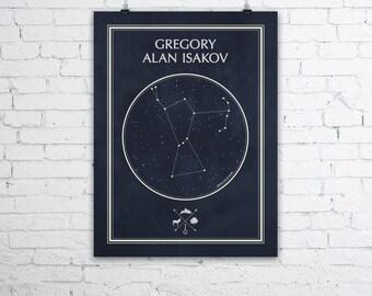 Gregory Alan Isakov Constellation Poster