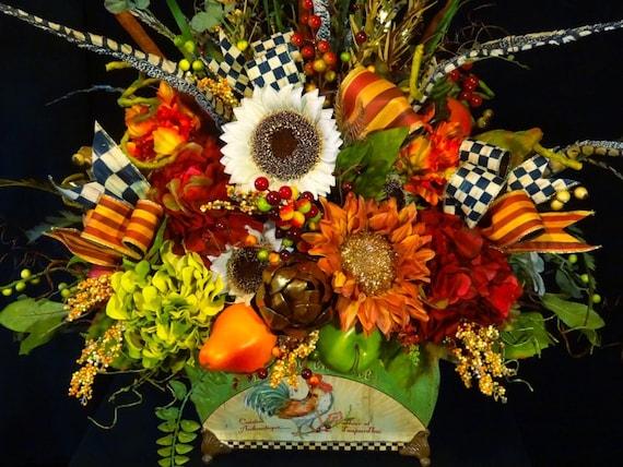 Fall flower arrangements by designbyheartworks flowers wikii extra large tuscan silk flower arrangement mightylinksfo