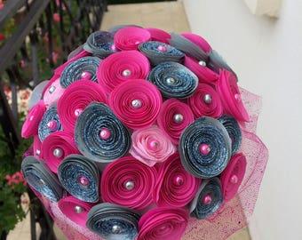 Bridal origami bouquet