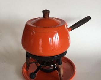 Vintage 60s Oil Fondue Pot