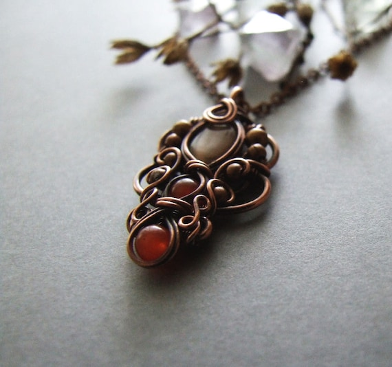 Necklace tutorial wire wrapping pendant tutorial diy aloadofball Gallery