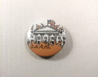Burning Down the House Pin