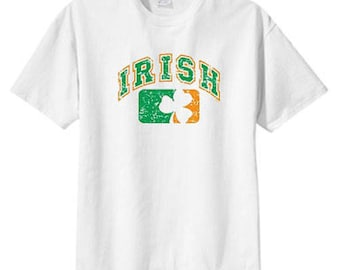 Irish Flag Shamrock New T Shirt s m l xl 2x 3x 4x 5x Ireland St Patricks Day Party