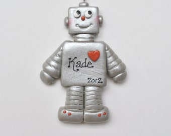 Personalized Robot Christmas  Ornament / Costume / Mechanical /Children's ornament