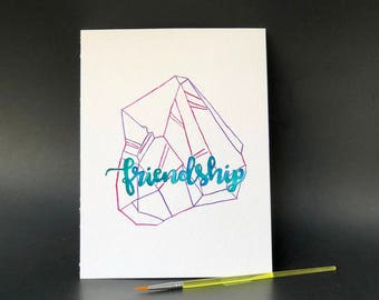 Friendship Crystal - Paint Kit
