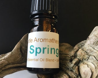 Spring 100% Pure Essential Oil Blend Undiluted Aromatherapy