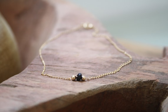 dainty gold au listing il filled anklet drop